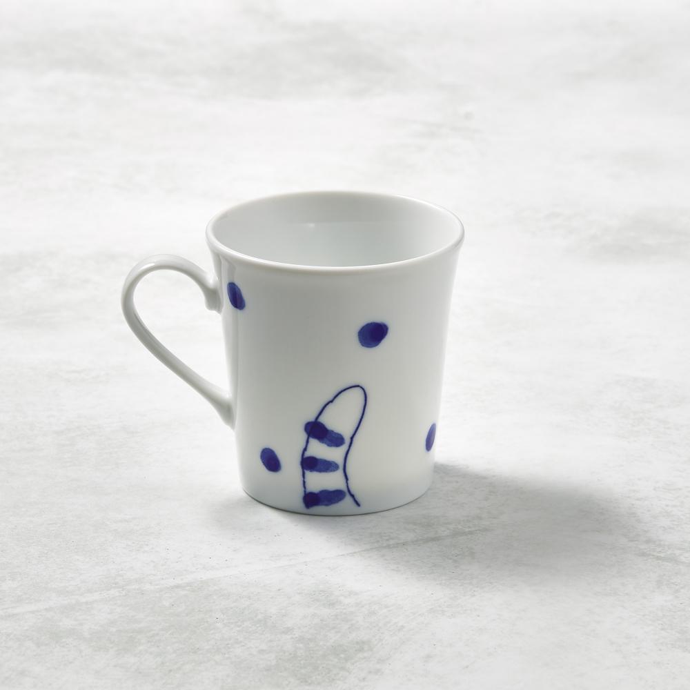 日本澤藍美濃燒|虎貓君馬克杯