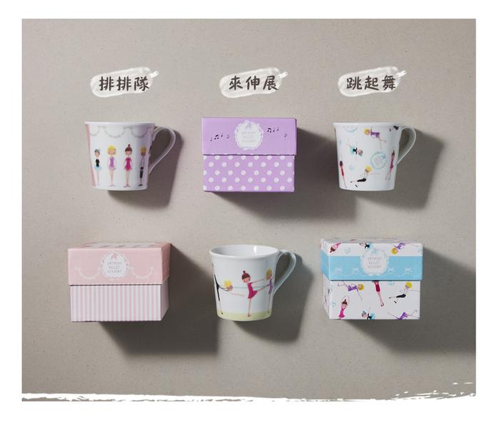 (複製)日本小倉陶器|粉染花朵盤 - 3件組 (19.5cm)