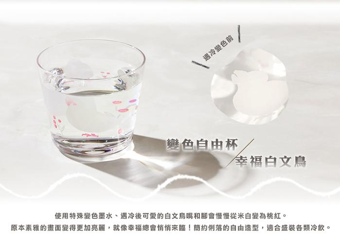 (複製)日本富硝子|變色短腳酒杯 - 吉野櫻花雨 (220ml)