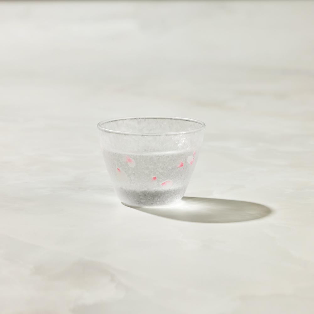 日本富硝子 變色霧面小酌杯 - 櫻吹雪 (90ml)