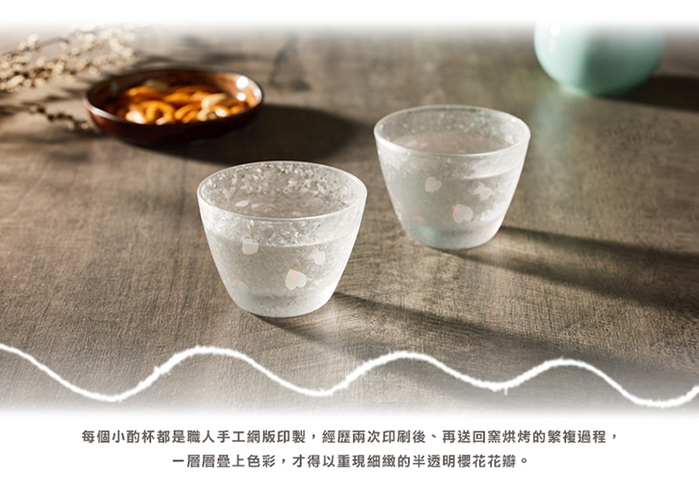 (複製)日本富硝子|變色自由杯 - 幸福白文鳥 - 雙件組 (220ml)