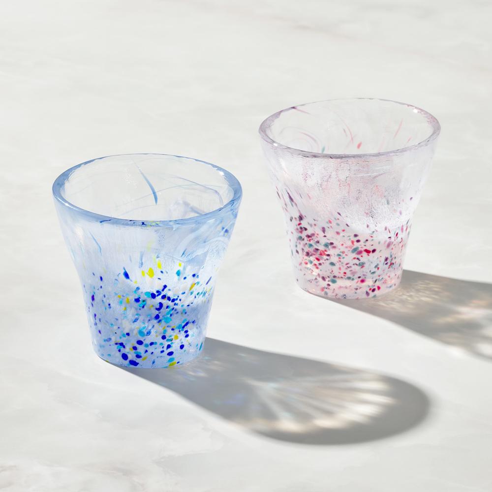 日本富硝子|手作浮世自由杯 - 對杯組 (2件式) - 170ml