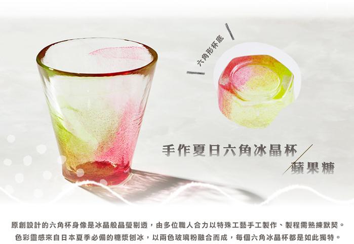 (複製)日本富硝子|手作夏日六角冰晶杯 - 檸檬蘇打 (170ml)