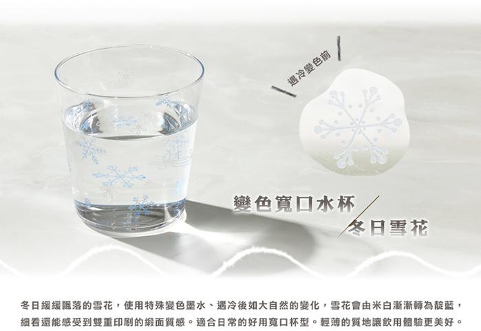 (複製)日本富硝子|變色寬口水杯 - 仲夏花火 (300ml)