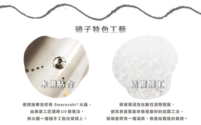 (複製)日本富硝子 蕾絲葡萄酒杯 - 綻放鉑金對杯組 (2件式) - 禮盒組 (250ml)