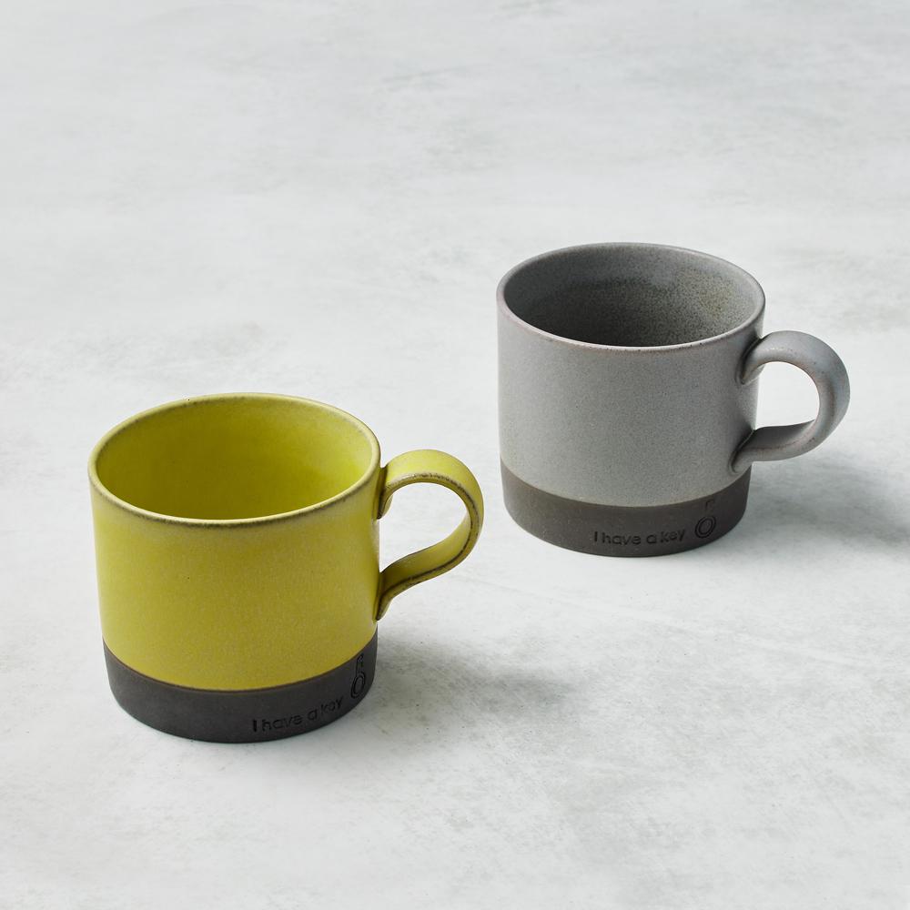 日本KOYO美濃燒|圓筒馬克杯 - 對杯組(2件式) - 330ml