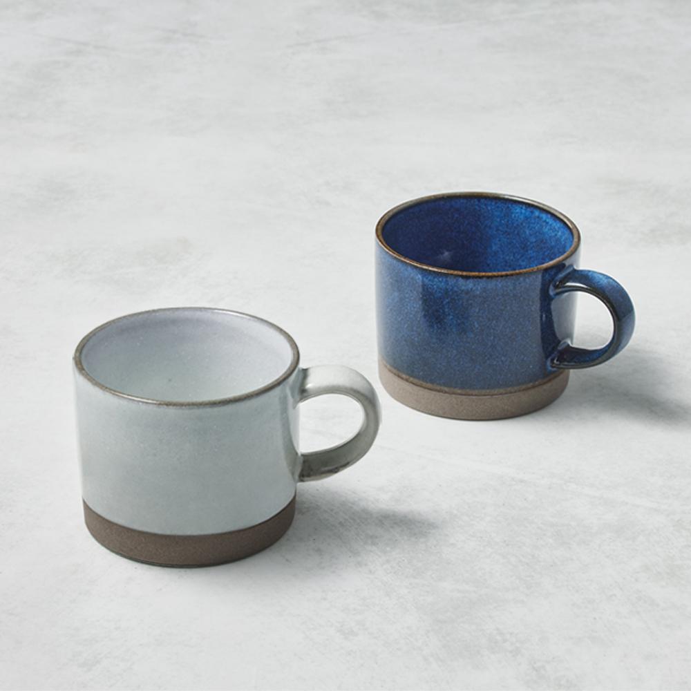 日本KOYO美濃燒|自然釉彩馬克杯 - 對杯組(2件式) - 290ml