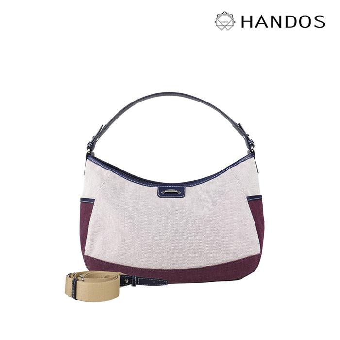 (複製)HANDOS|Meg March 帆布側背/肩背兩用包 - 大海藍
