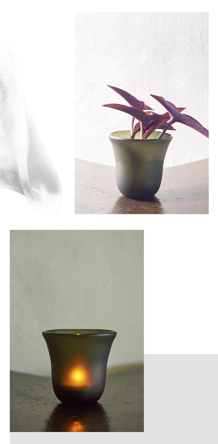 (複製)3,co|手工彩色玻璃杯(小) - 紅