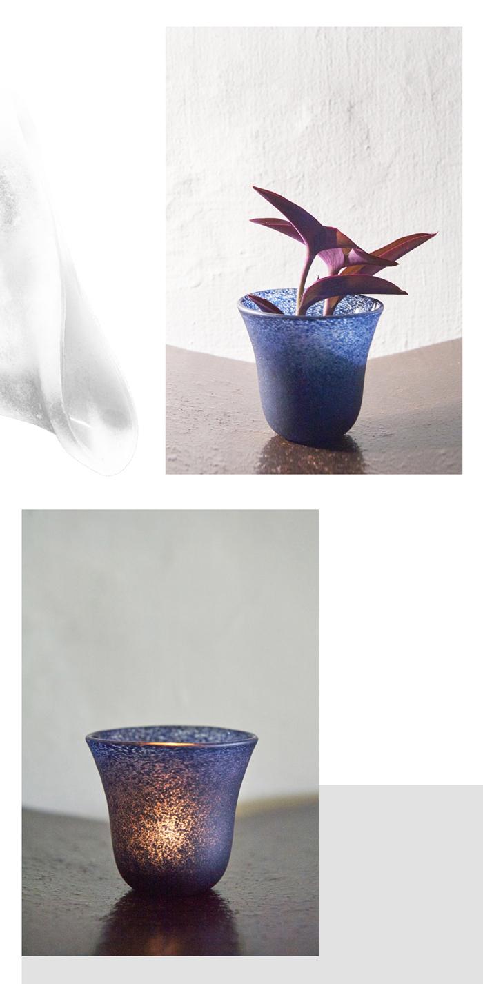 (複製)3,co|手工彩色玻璃杯(小) - 綠