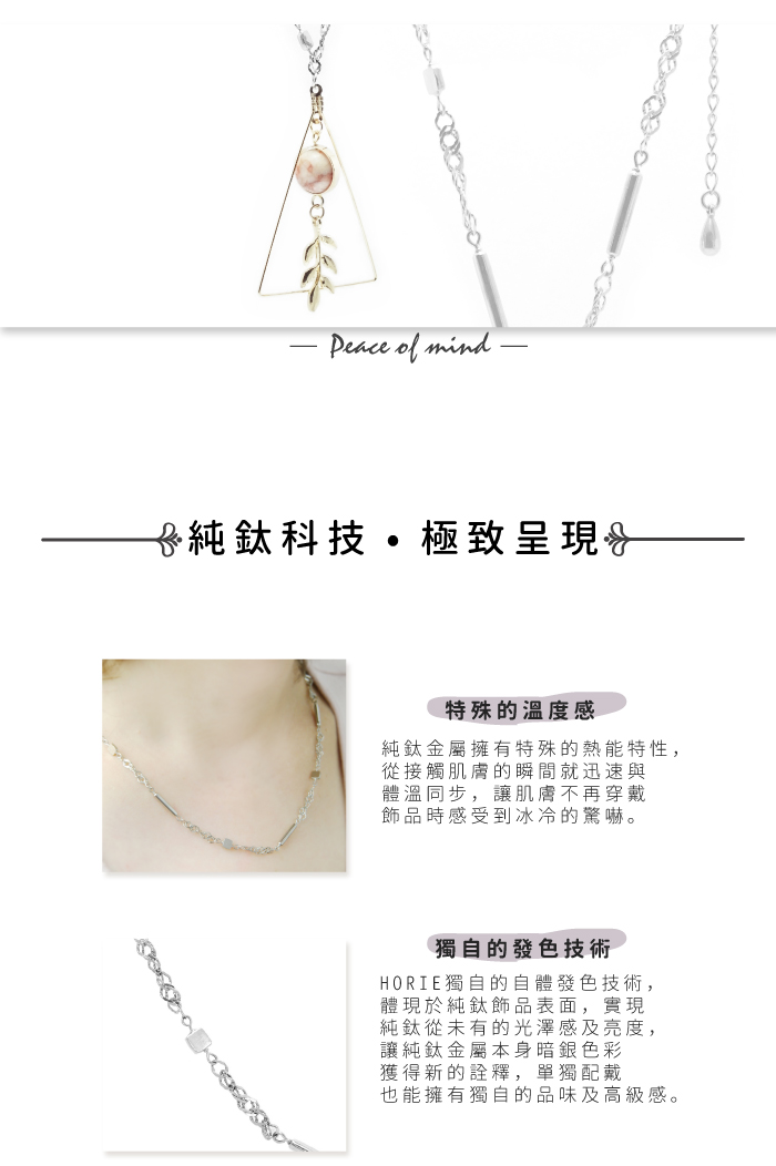 (複製)日本HORIE|純鈦磁石項鍊-珍愛十字