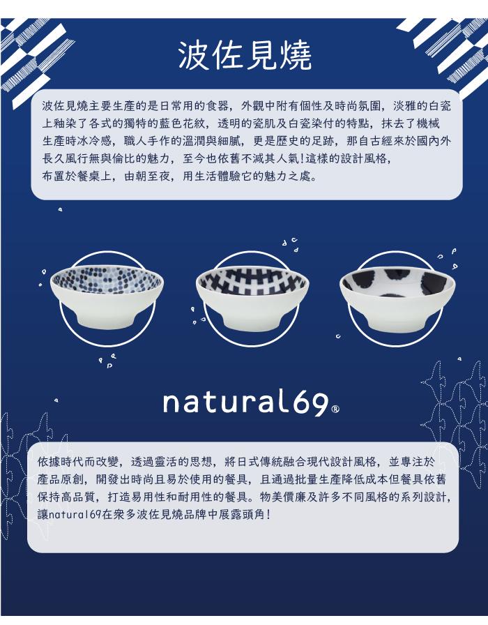 (複製)natural 69|日本波佐見燒 日式飯碗-魚群