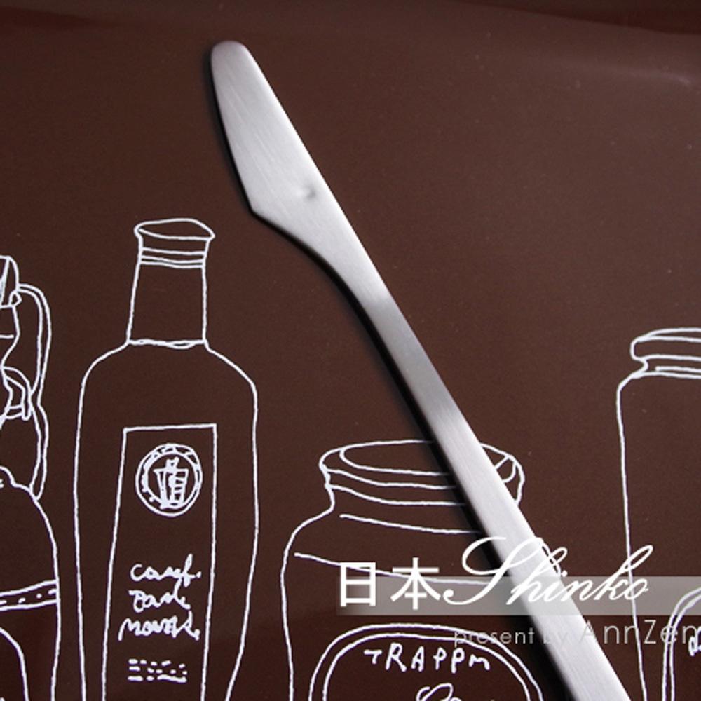 日本Shinko|日本製  設計師系列 微笑酒窩- 主餐刀