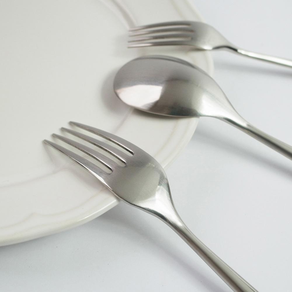 日本Shinko|日本製 設計師系列 素直-主餐叉