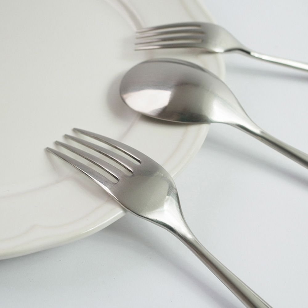 日本Shinko 日本製 設計師系列 素直-小餐叉