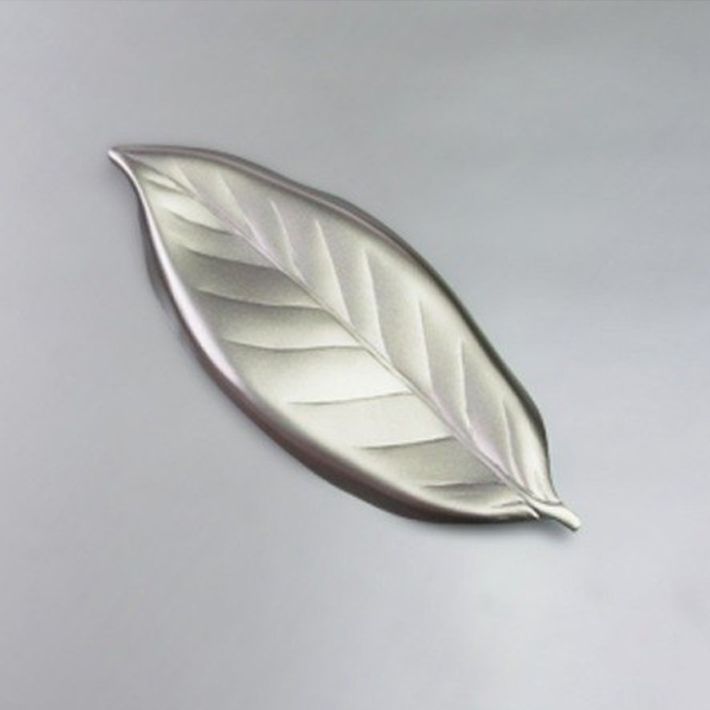 日本Shinko|日本製 設計師系列-作用 金木犀葉片筷架-銀色葉片