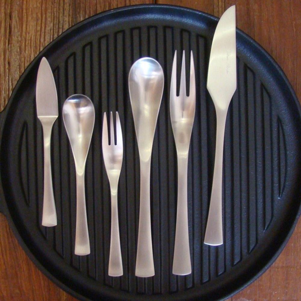 日本Shinko|Good design 國際設計大獎-日本製 精緻叉匙餐具禮盒-愛丁堡系列