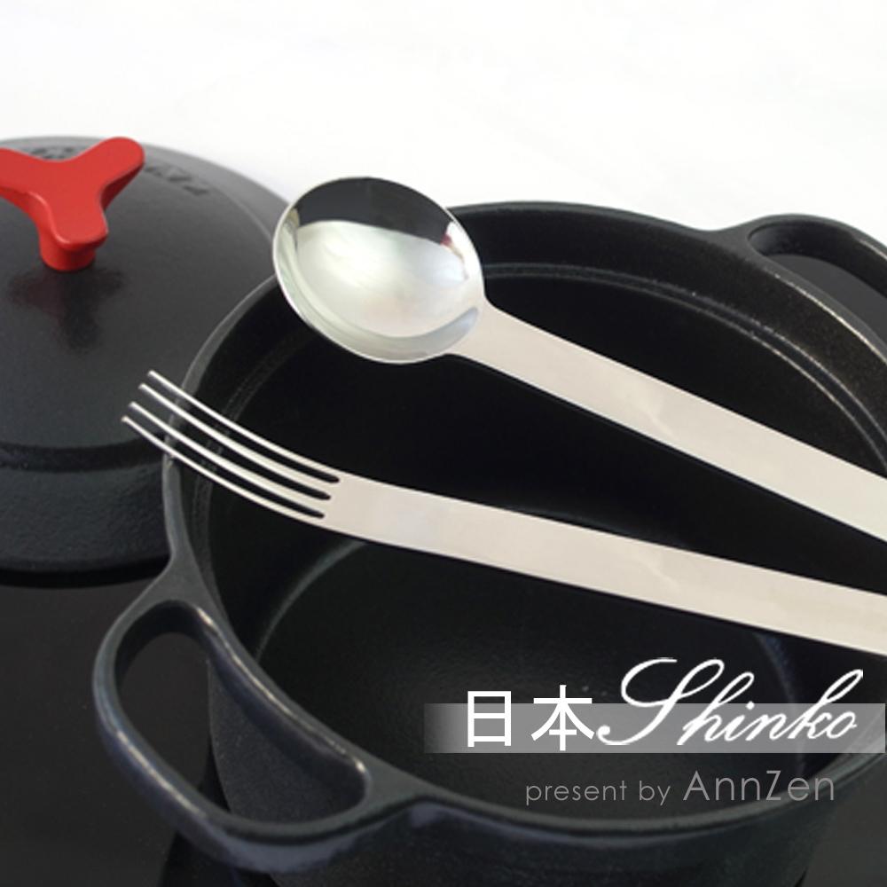 日本Shinko 日本製 設計師系列 TI-1 主餐匙