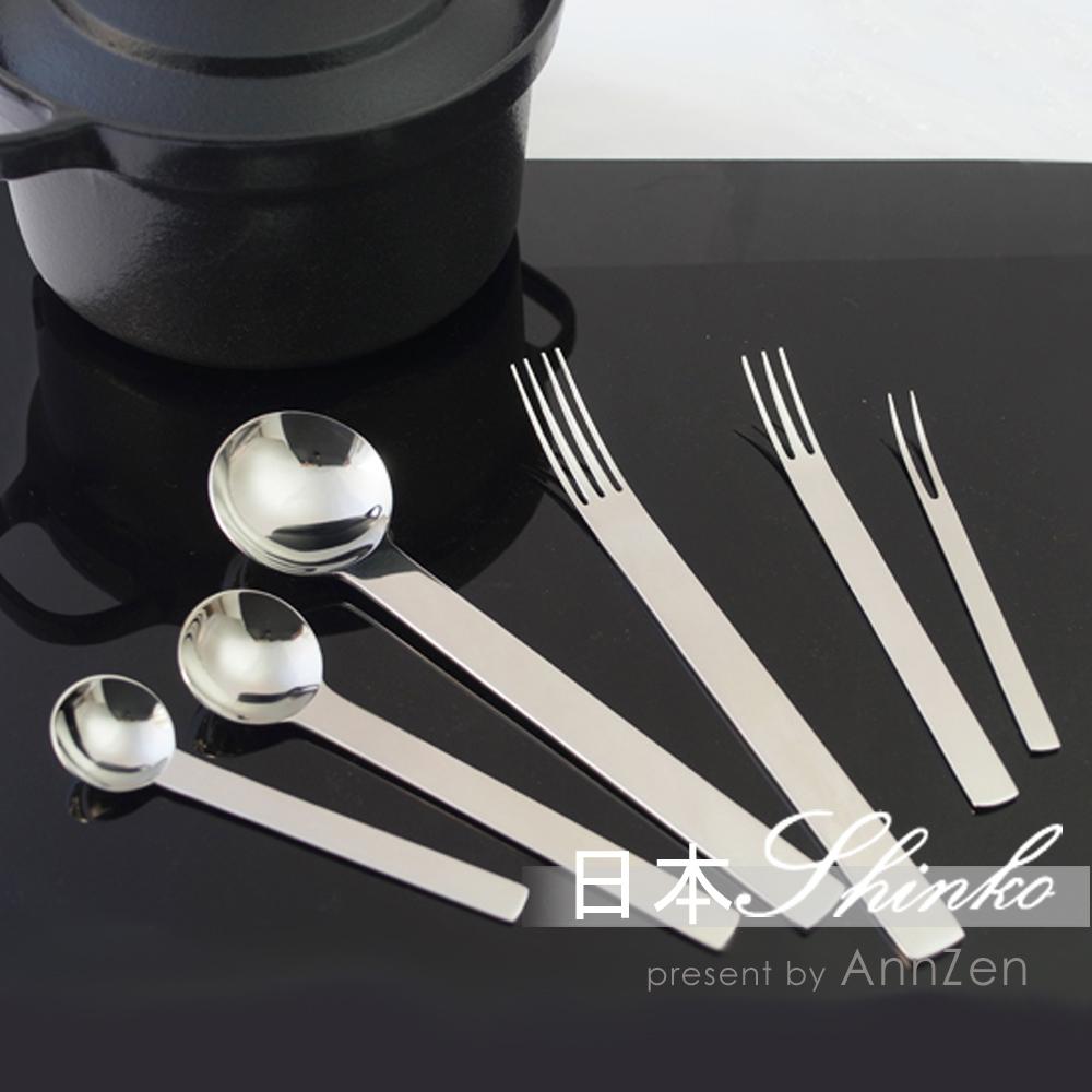 日本Shinko|日本製 設計師系列 TI-1 咖啡匙