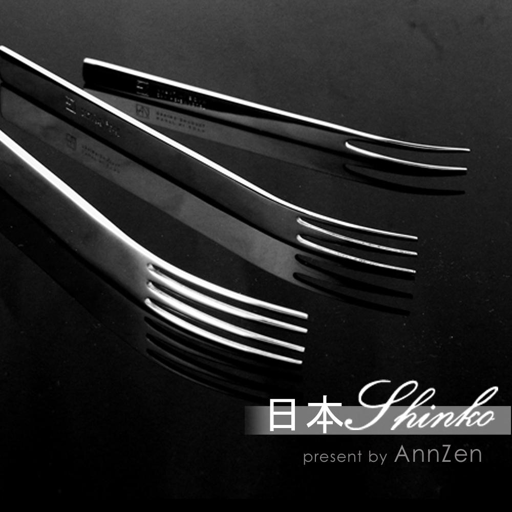 日本Shinko|日本製 設計師系列 TI-1 水果叉