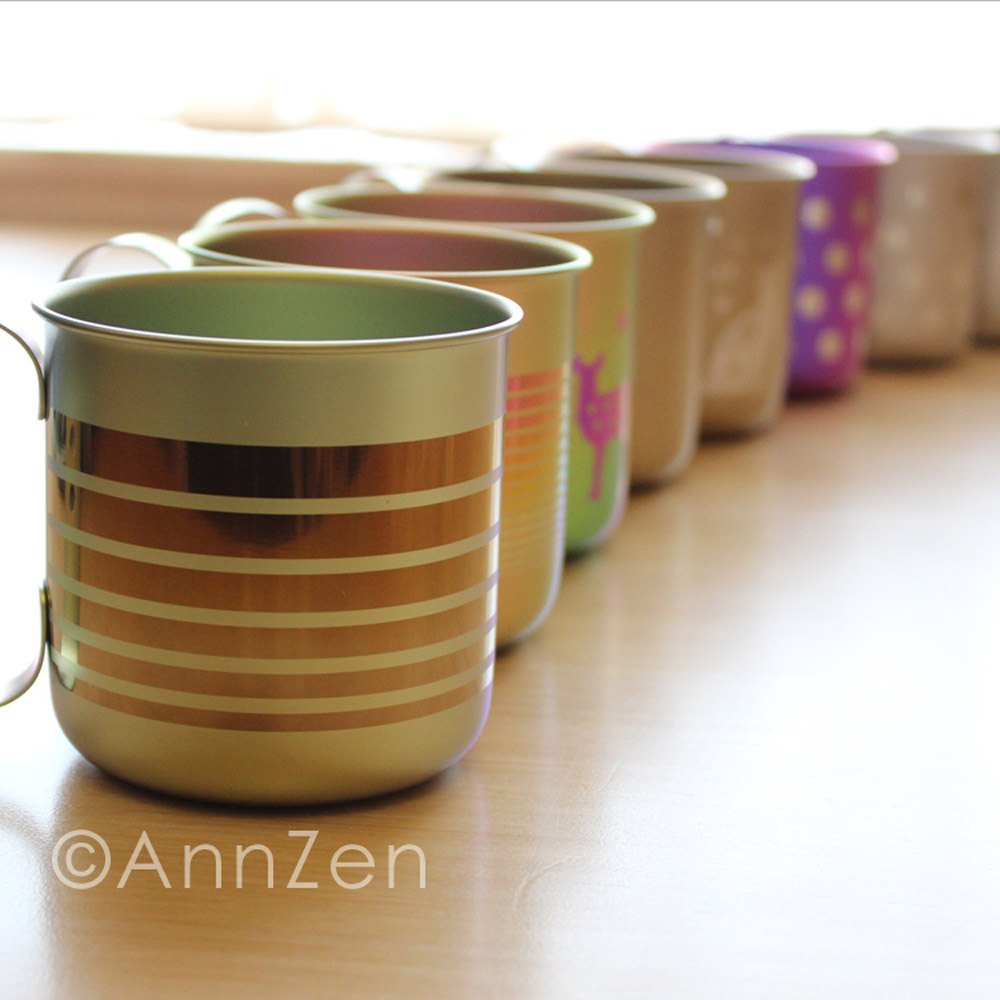 日本HORIE|鈦愛地球系列-日本製 純鈦抗菌ECO環保設計馬克杯-燦麗菊