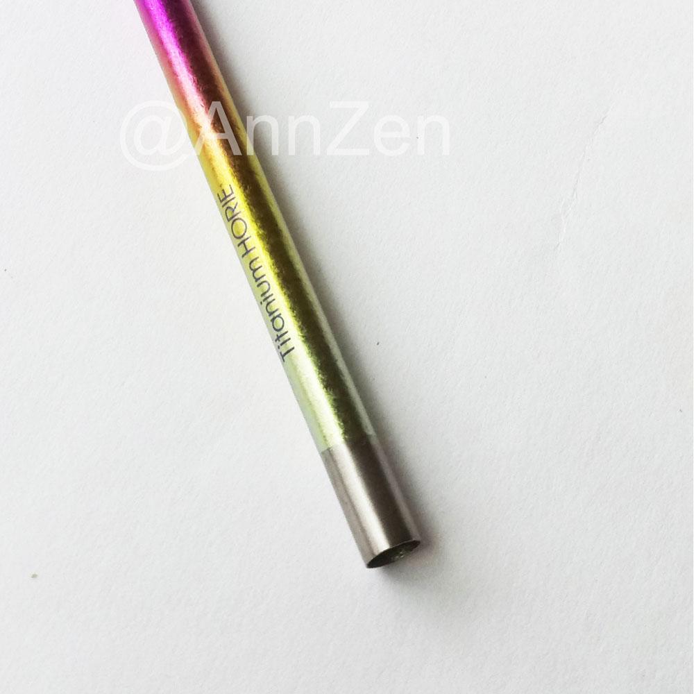 日本HORIE|鈦愛地球-純鈦抗菌ECO環保吸管-璀璨虹