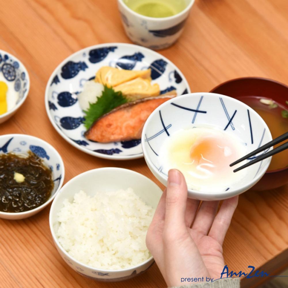 natural 69|日本波佐見燒 日式扁碗-條紋