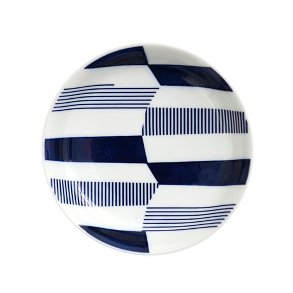 natural 69 日本波佐見燒 日式小皿盤-條紋