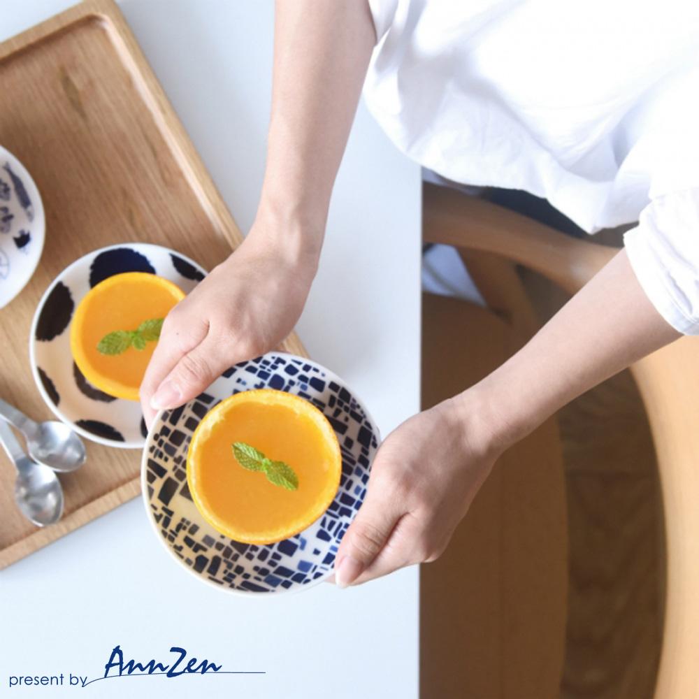 natural 69|日本波佐見燒 日式小皿盤-繡紋