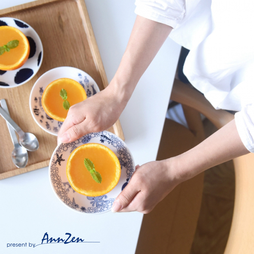 natural 69|日本波佐見燒 日式小皿盤-魚群