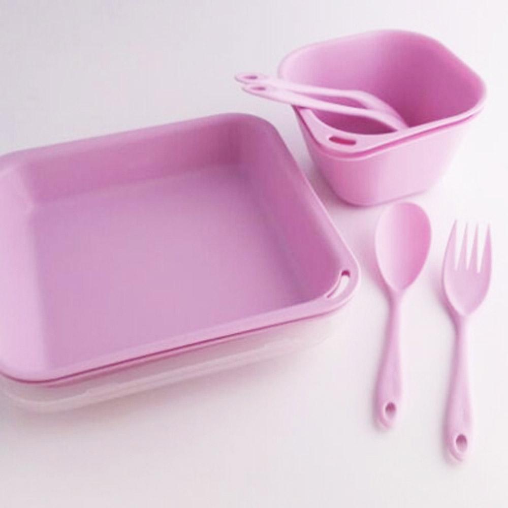 Truvii|野莓紫抗菌餐具組( 附網袋 )
