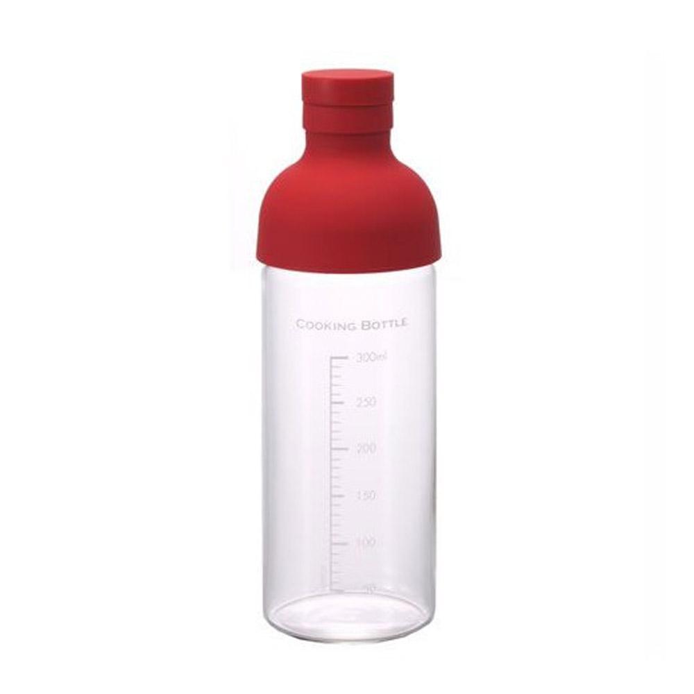 HARIO|酒瓶紅色調味瓶300 CKB-300-R
