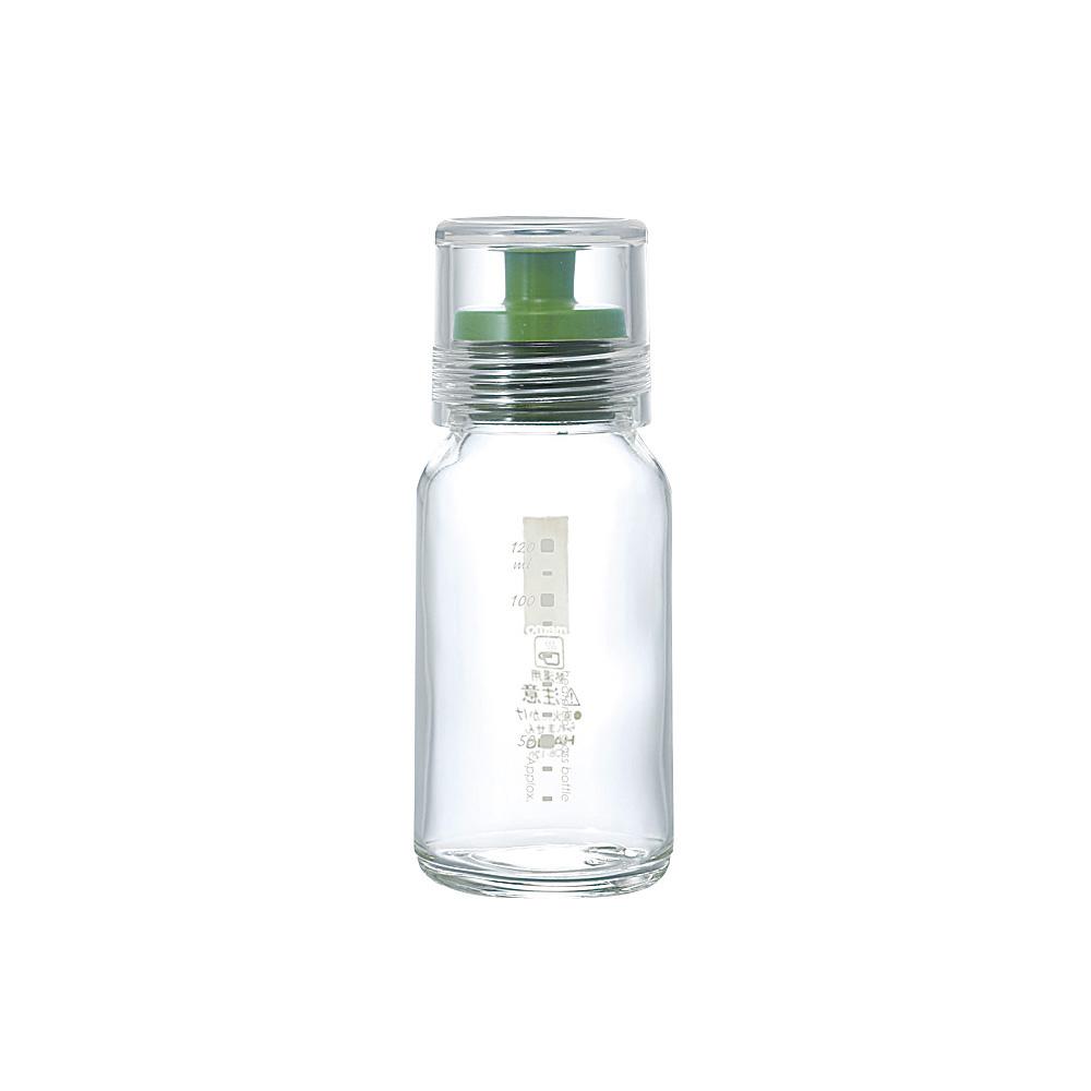 HARIO|斯利姆綠色調味瓶120ml DBS-120G