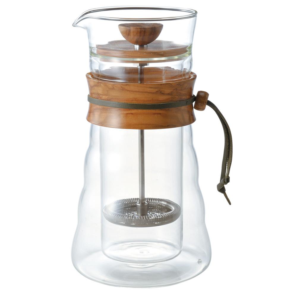 HARIO|自然風濾壓咖啡壺400ml DGC-40-OV
