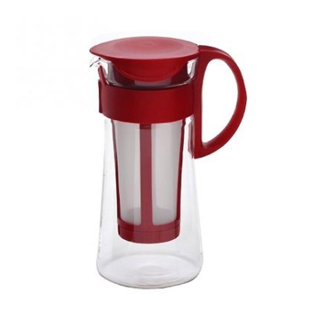 HARIO|迷你紅色冷泡咖啡壺600ml MCPN-7R
