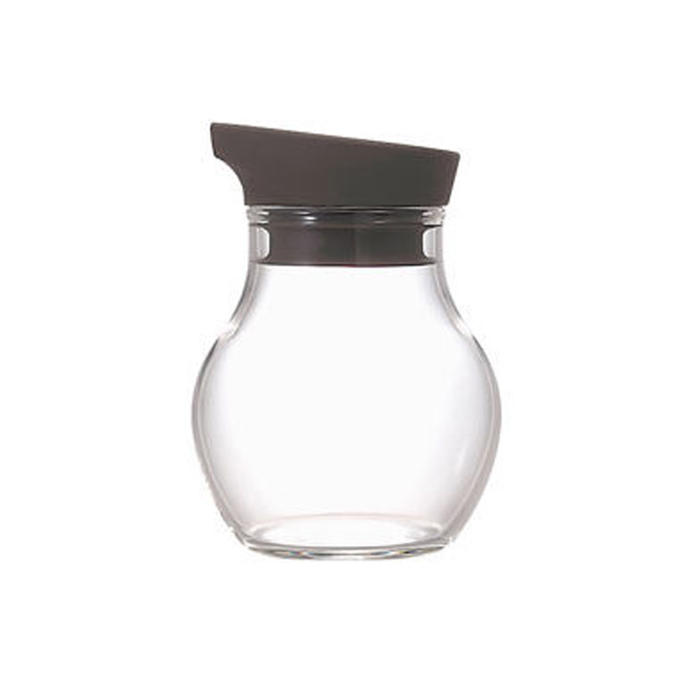 HARIO|NUBA黑灰調味瓶120ml NCF-120CGR
