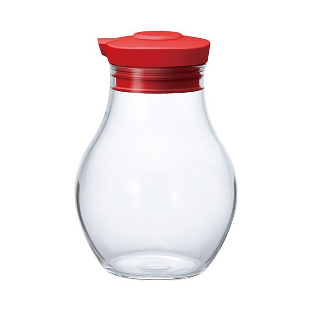 HARIO|酒紅按壓式調味罐180 OMPS-180-R 180ml