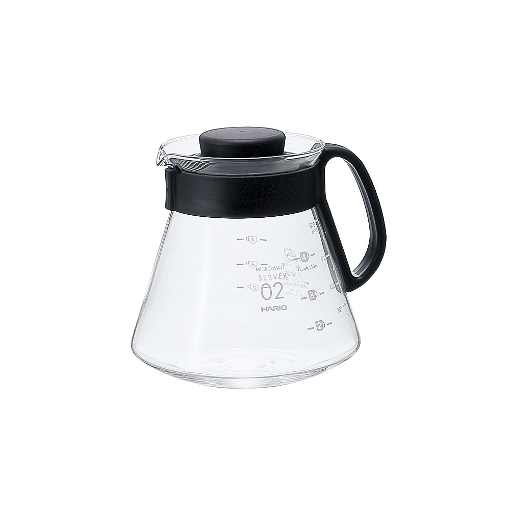 HARIO|V60經典60咖啡壺600ml XVD-60B