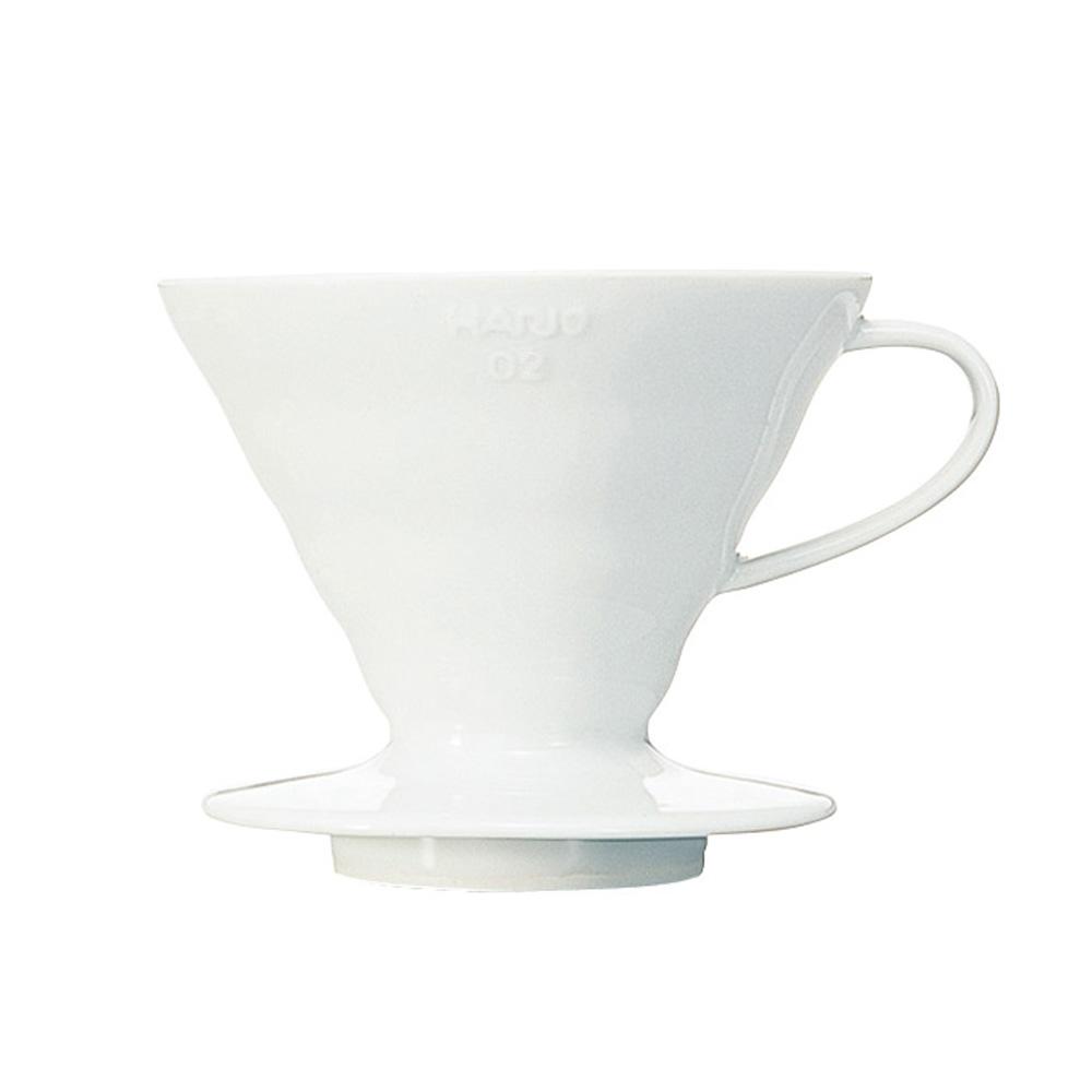 HARIO|V60白色02磁石濾杯1~4杯 VDC-02W