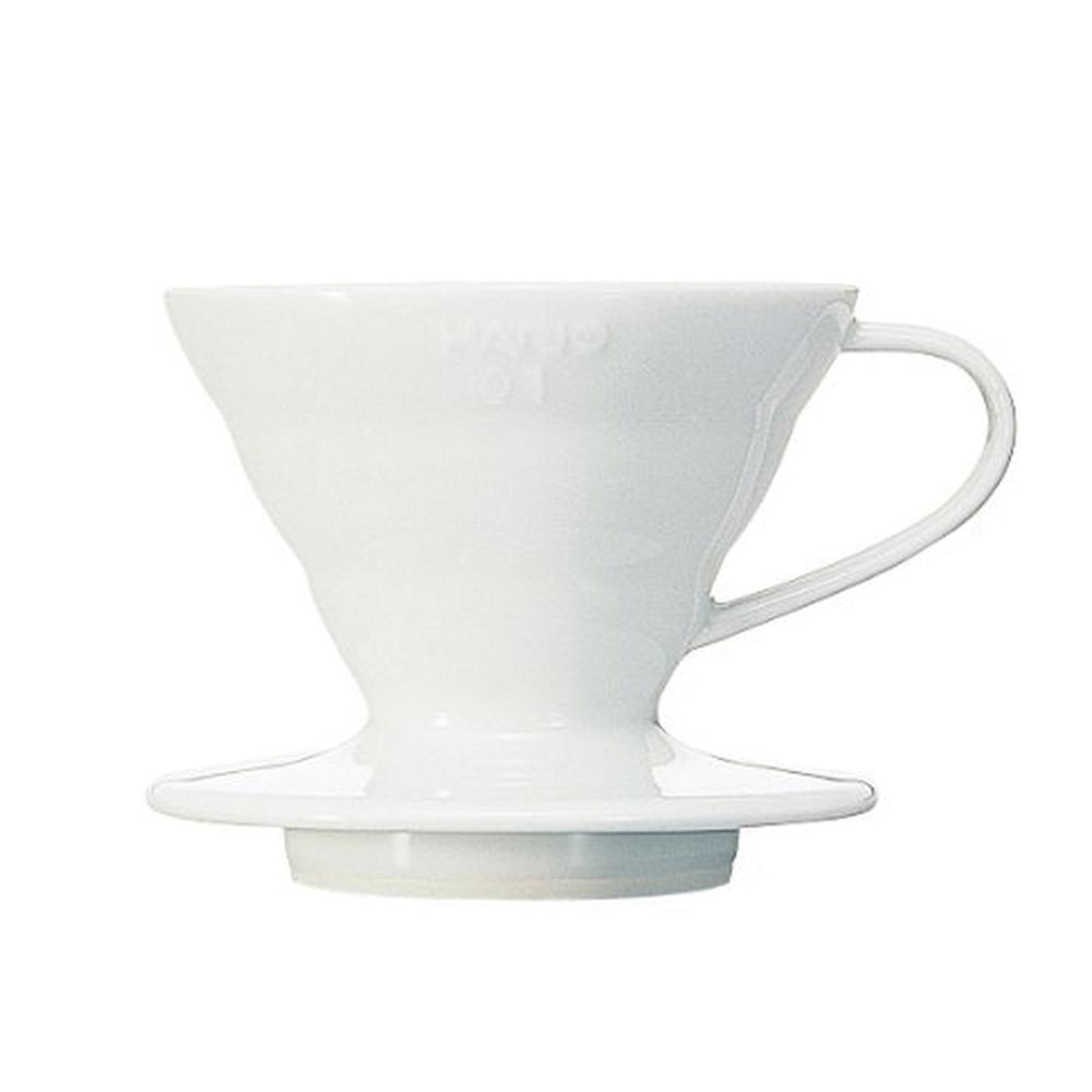 HARIO|V60白色01磁石濾杯1~2杯 VDC-01W