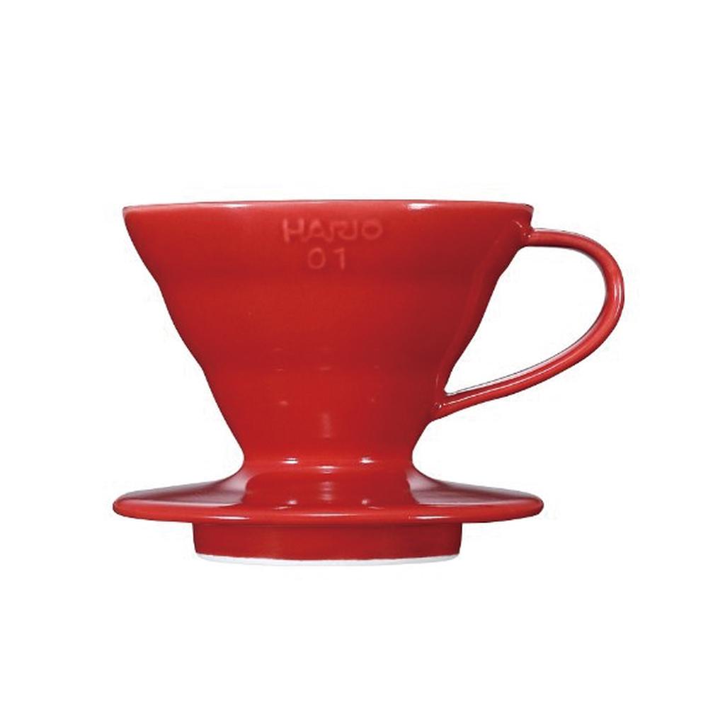HARIO V60紅色01磁石濾杯1~2杯 VDC-01R