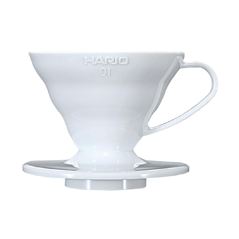 HARIO|V60白色01樹脂濾杯1~2杯 VD-01W