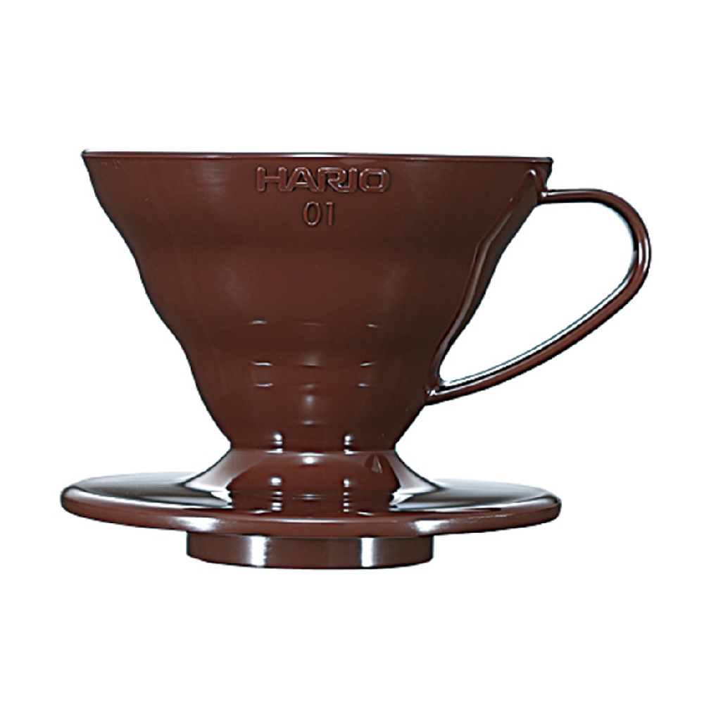 HARIO|V60棕色01樹脂濾杯1~2杯 / VD-01CBR