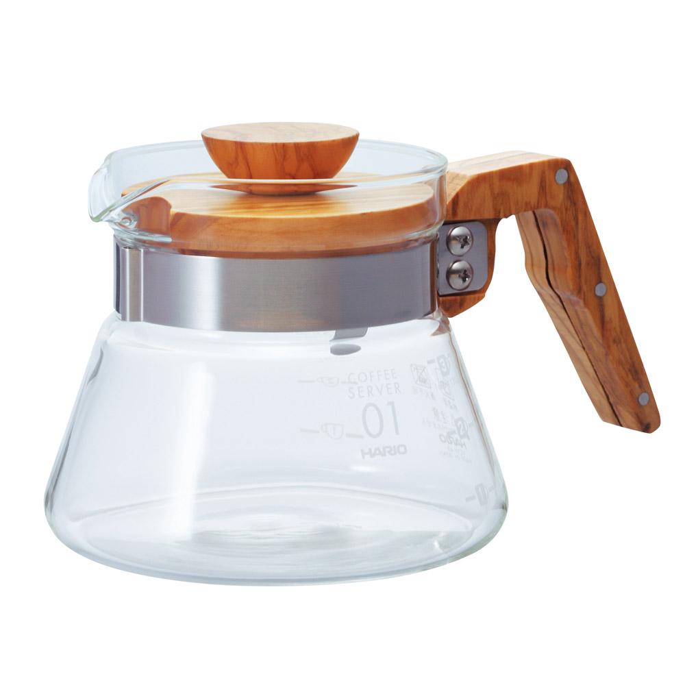 HARIO|V60橄欖木40好握咖啡壺400ml VCWN-40-OV