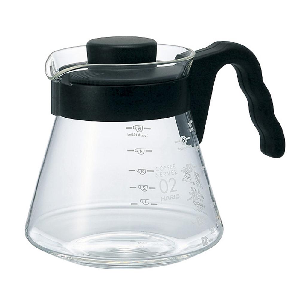 HARIO V60好握02黑色咖啡壺700ml VCS-02B