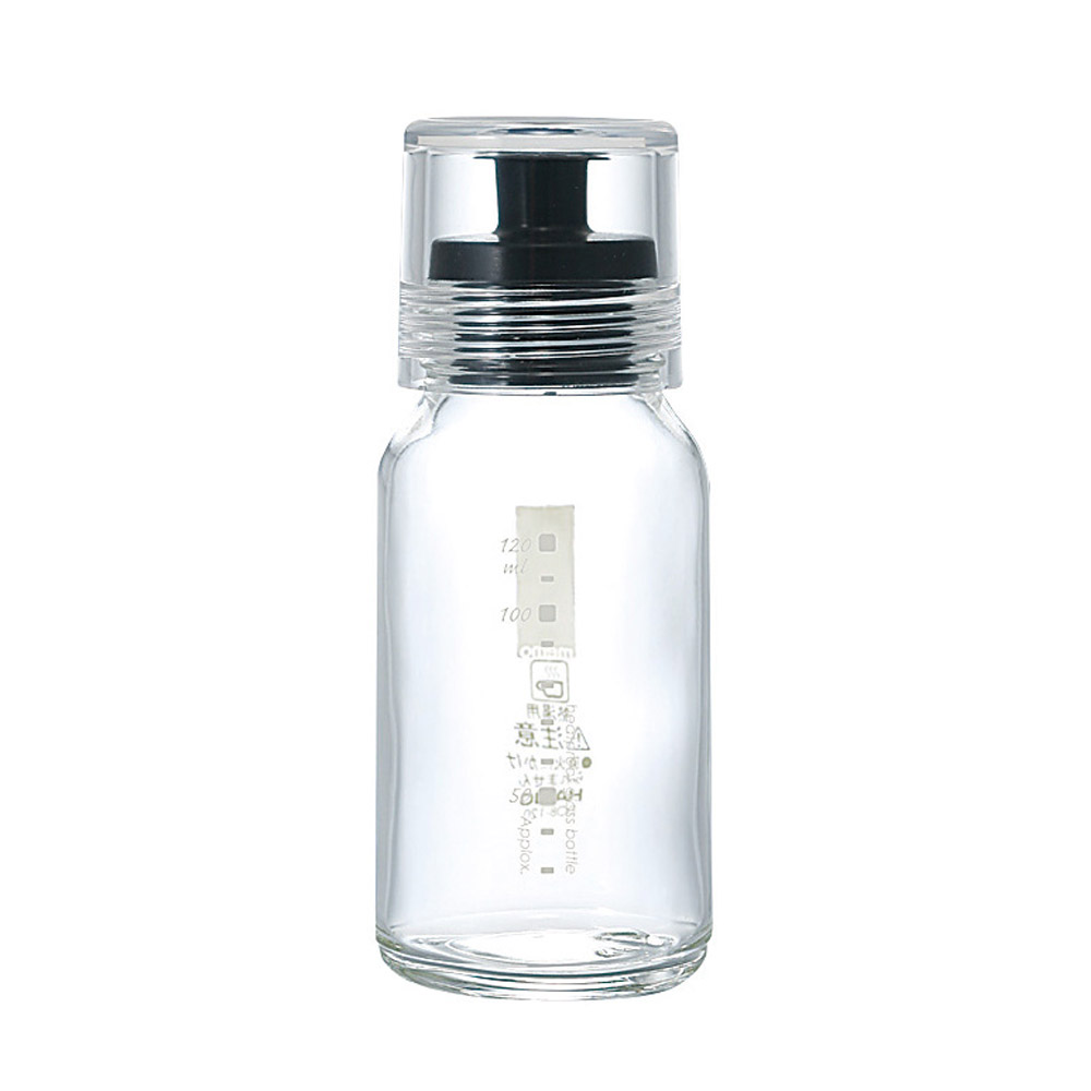 HARIO|斯利姆黑色調味瓶120ml DBS-120B