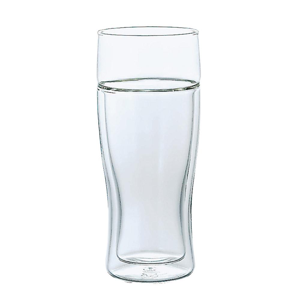 HARIO|雙層玻璃啤酒杯380ml TBG-380