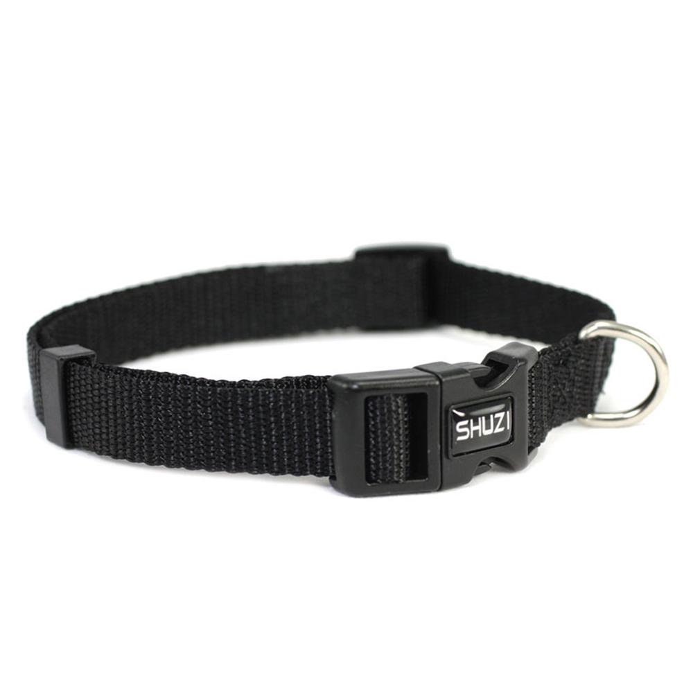SHUZI™|愛犬守護項圈  黑 - 美國製造  SHDC001