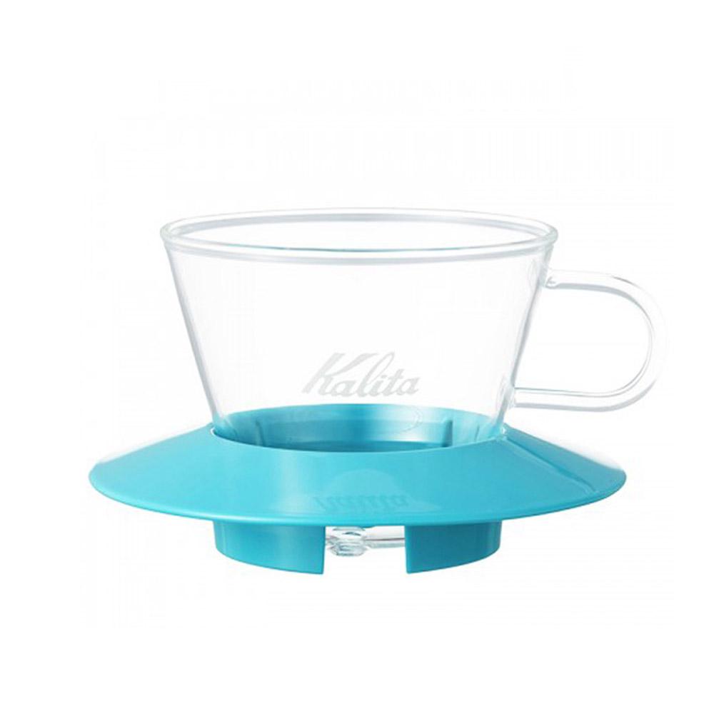 KALITA|155系列蛋糕型玻璃濾杯(薄荷綠) #05063