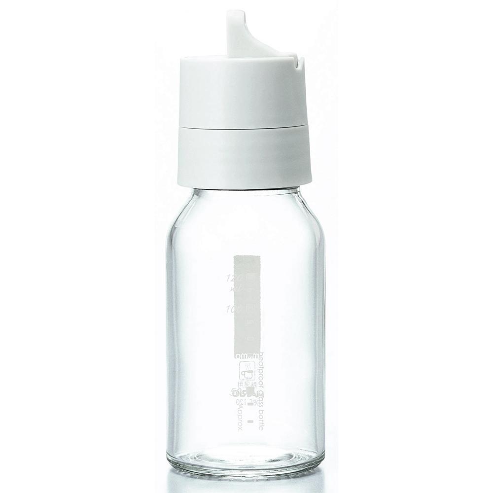HARIO 簡約按壓式白色調味罐120ml ODB-120-PGR